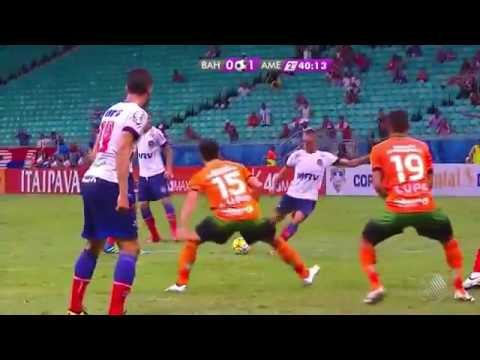 Melhores Momentos Bahia 0 x 1 América MG Copa do Brasil 18.05.2016
