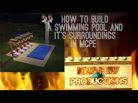 How to build a swimming pool and it's surroundings