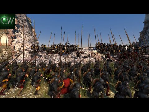 STRIPPING THE LATIN EMPIRE OF THEIR CAPITAL! 3v2 Medieval Kingdoms 1212AD Battle