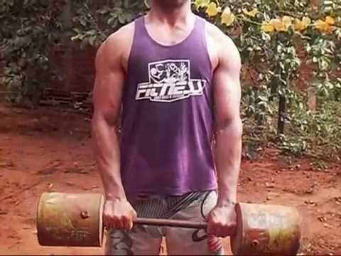 ejercicios para aumentar biceps en casa