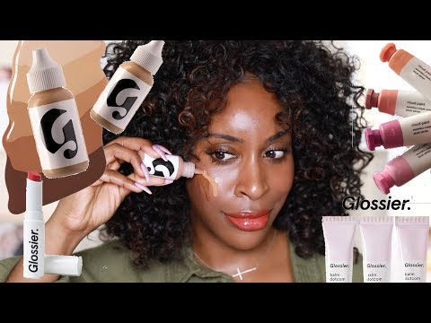 GLOSSIER - What is You Doin Baby?! | Jackie Aina