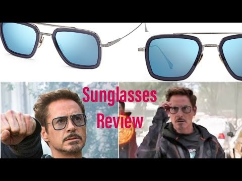 IRON MAN SUNGLASSES REVIEW: Dita Flight 006