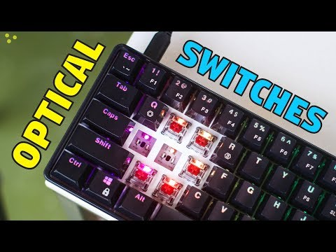 Geek GK61 Optical Mechanical Keyboard - Unboxing & Review