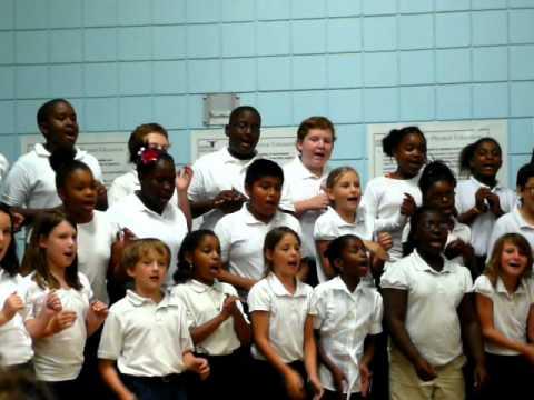 Lean on Me performed by Isle of Hope Elementary School