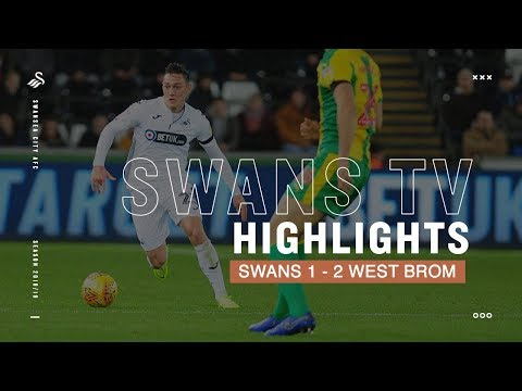Highlights: Swans 1-2 West Brom
