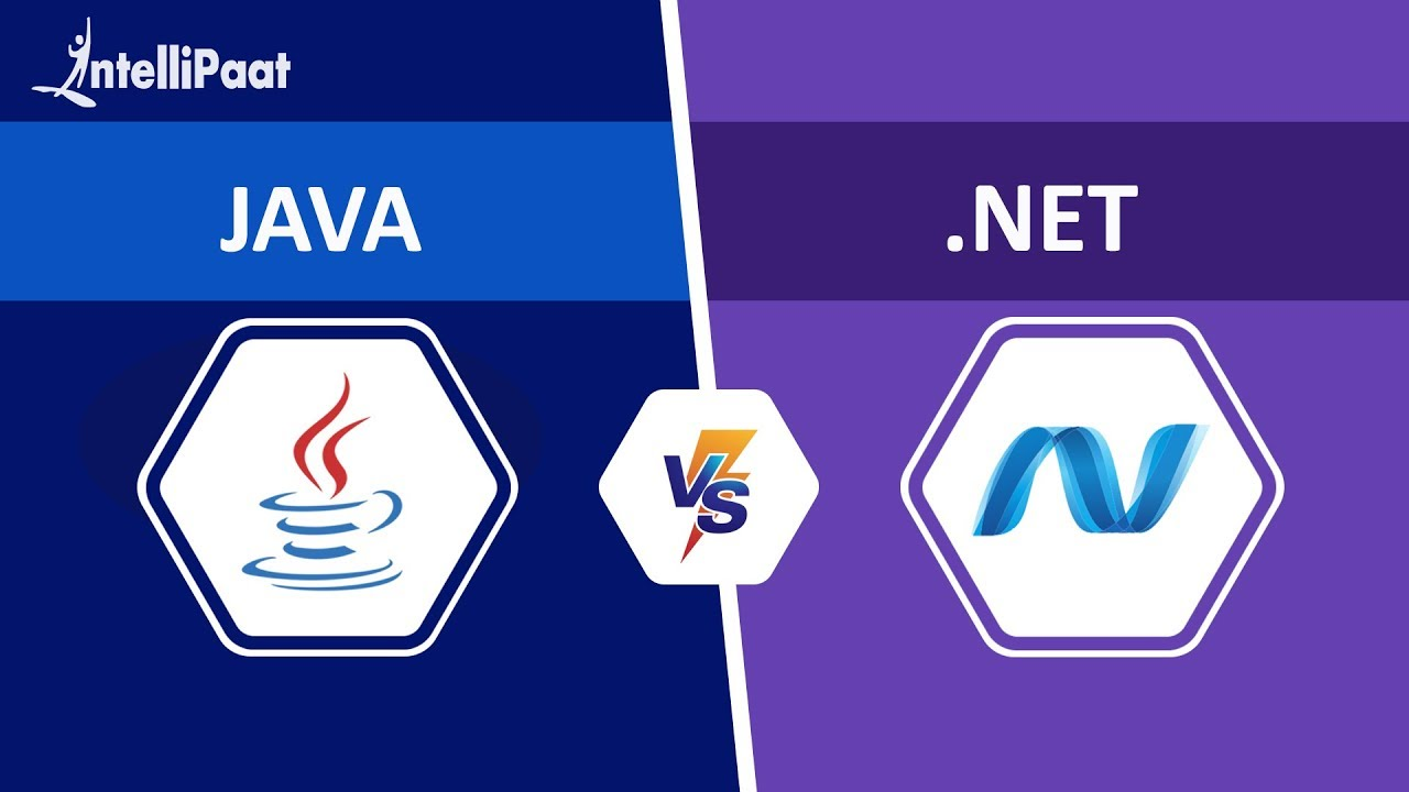 Java vs .Net | Difference between Java and .Net - Which one is Better? | Intellipaat