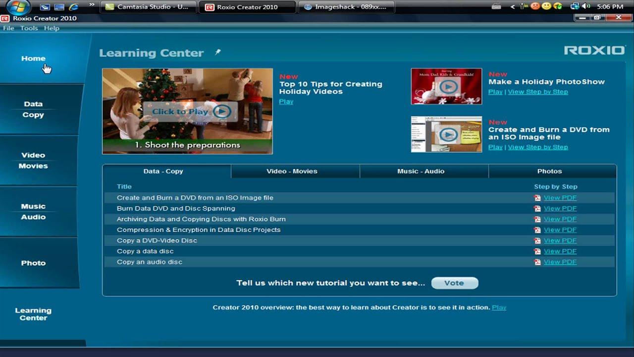 Roxio Creator 2010 Review
