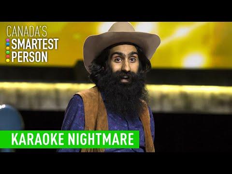 Anish's Karaoke Nightmare | Canada's Smartest Person | CBC