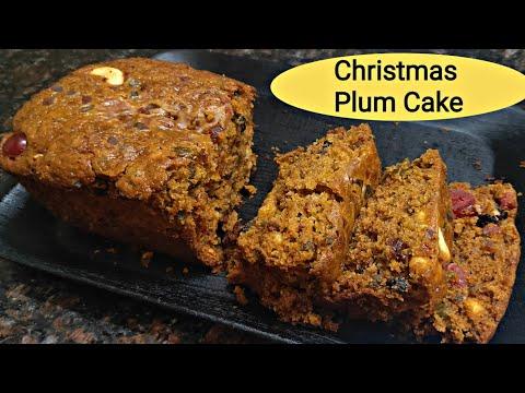  Christmas Plum Cake In Tamil   Eggless Plum Cake  
