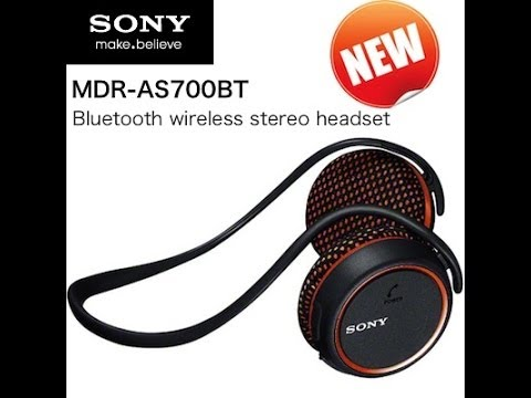 the smart way to listen to the music sony mdr as700bt bluetooth headphones youtube. Black Bedroom Furniture Sets. Home Design Ideas