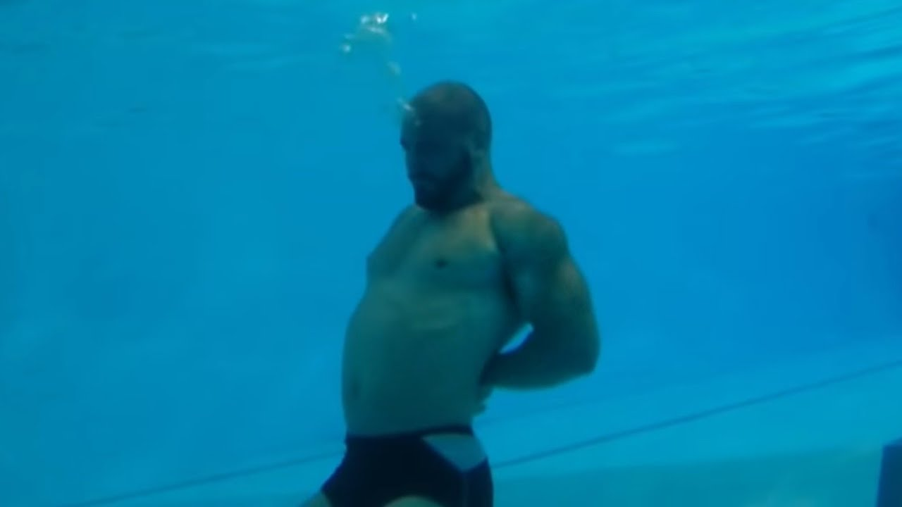 Royal Marine Veteran Vs Navy Seal Drown Proofing Youtube