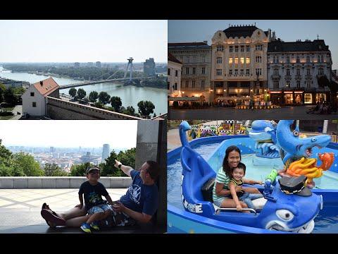 Bratislava Slovakia and Excalibur City Czech Republic Holiday