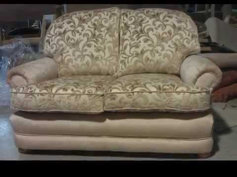SHELL SUITE REUPHOLSTERY