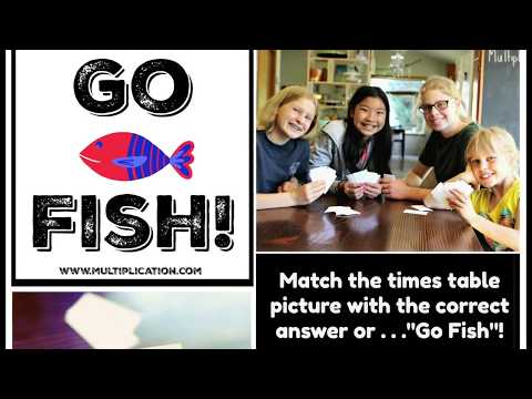 Multiplication.com - Go Fish