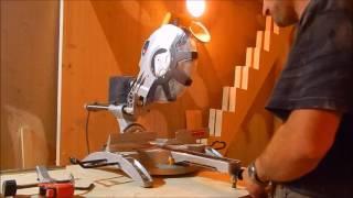 Торцевая пила Калибр ПТЭ 2100/305ПРм -обзор /ступенька 48
