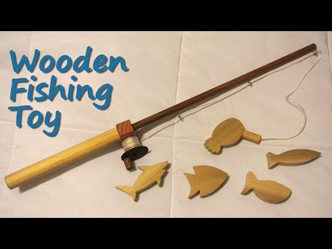 Wooden Fishing Toy - DIY Tutorial