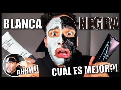 MASCARILLA BLANCA vs MASCARILLA NEGRA