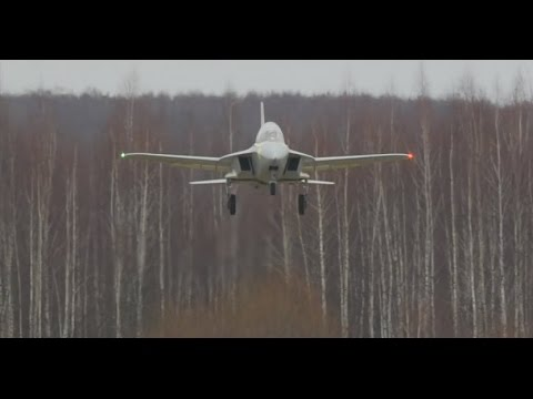 New Russian forward-swept wing training plane SR-10.