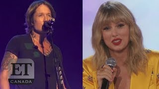 Taylor Swift Reacts To Keith Urban's 'Lover' Cover Video