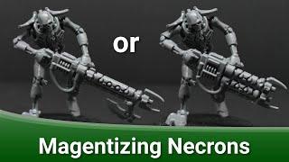 Magnetizing Necron Warriors   Tutorial