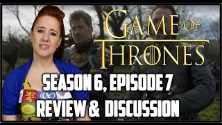 Game of Thrones Season 6 Episode 7 Review (BOOK SPOILERS)
