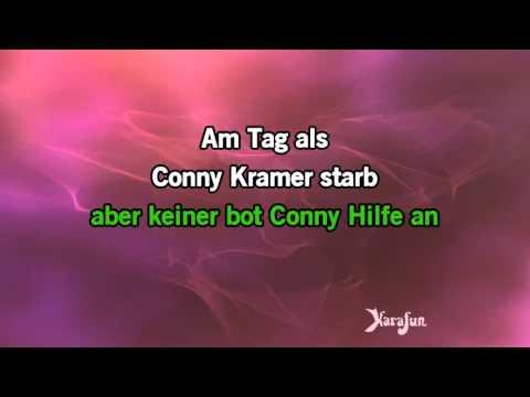 Karaoke Am Tag, als Conny Kramer starb - Juliane Werding *