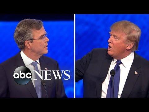 Trump Elicits Boos After Spat With Bush [Republican Debate Highlights]