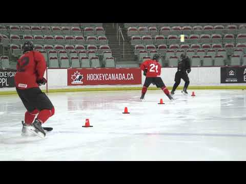 HCN Drill of the Month: Puck Control - Half Ice Lanes