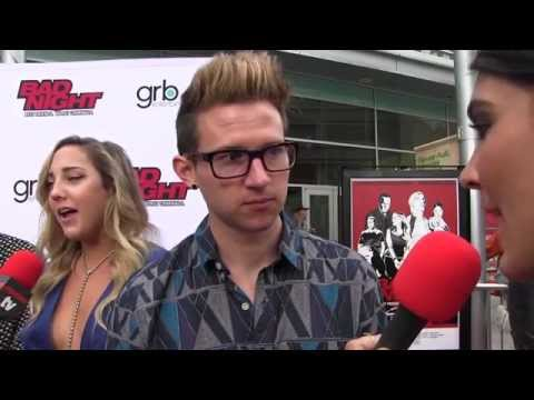 Ricky Dillon Interview @ Bad Night Movie Premiere
