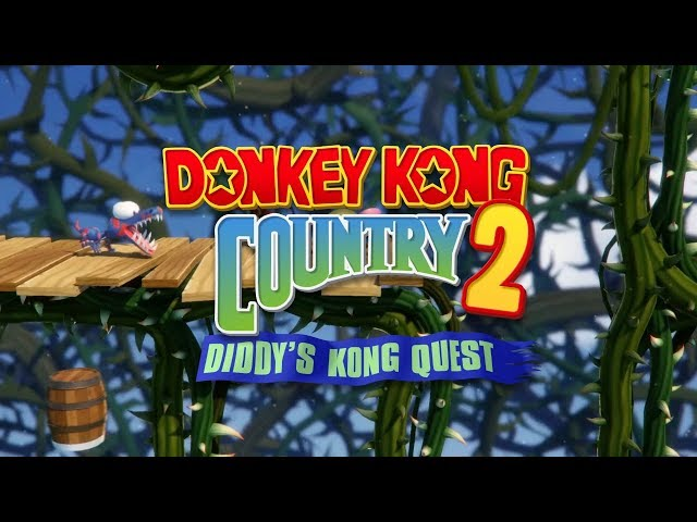 donkey kong country 2 snes rom
