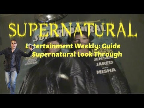 entertainment weekly guide to supernatural look through youtube rh youtube com supernatural season 9 music guide supernatural season 8 music guide