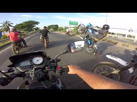 Royal Enfield Bullet Stunts On National Highway 47...