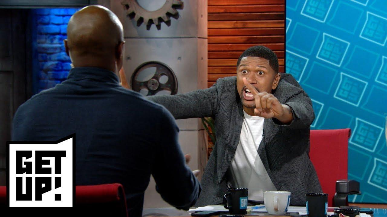 36c8c0b3df2f5f Michael Jordan-LeBron James debate between Jalen Rose and Jay Williams  turns wild
