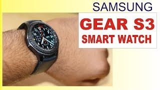 world s best smart watch samsung gear s3 frontier review and unboxing