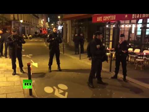 Police cordon off central Paris after stabbing attack