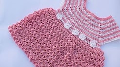 Crochet girl dress very easy