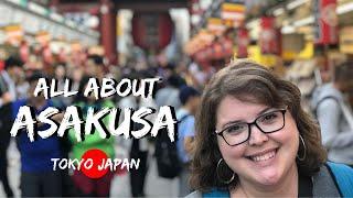 Our Guide to Asakusa   Tokyo, Japan Travel Vlog