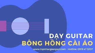 """Hướng dẫn đệm hát guitar bài """"Bông hồng cài áo"""" (Nguyễn Xuân Tùng) -  Lớp nhạc Giáng Sol"""