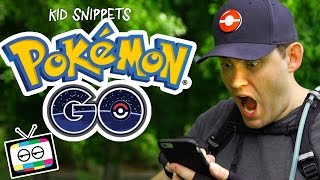 Pokemon Go with a PokeMaster - Kid Snippets