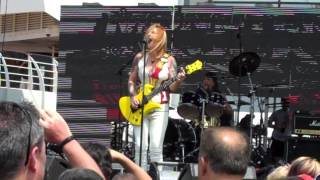 Lita Ford - Shot Of Poison, Nassau, Bahamas, Pool Stage, MORC 2015, Abril 2015