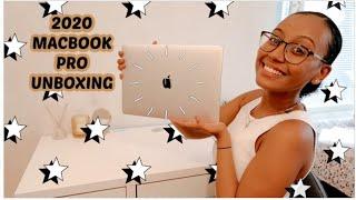"2020 13"" MacBook Pro Unboxing + Set-up"