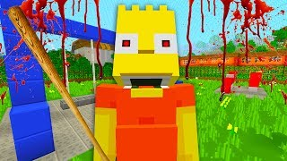 Bart Becomes a Bully | The Simpsons | Minecraft Xbox [69]