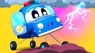 Малыши Машинки -  О, нет! ГРОЗА! - Обучающие мультфильмы Автомобильного Города