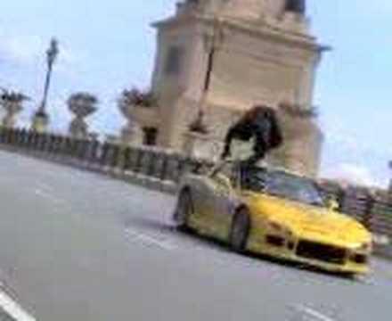 Stunt Scene In Evolusi Kl Drift Youtube