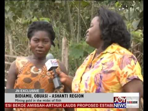 MINING GOLD IN THE MIDST OF FILTH - JOY NEWS EXCLUSIVE (17-10-13)