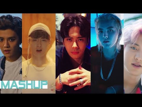 EXO/LAY/KRIS/TAO/LUHAN/JACKSON - Sheep / Ko Ko Bop / Papillon / That Good Good / July ( MASHUP ♪ )
