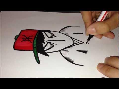 Graffiti Spray Can Characters Drawings How to Draw Graffiti Character