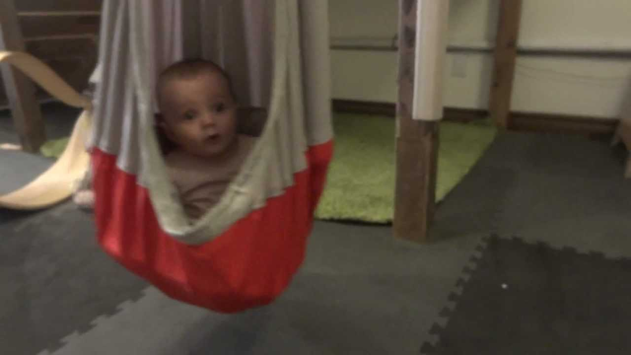 Ikea Ekorre Swing Tested Startled Eloise Youtube