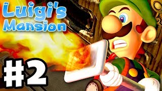 Luigi's Mansion - 3DS Gameplay Walkthrough Part 2 - Area 2 - Bogmire (Nintendo 3DS)