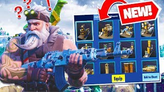 FIRST LOOK AT FORTNITE *SEASON 7* WEAPON SKINS & CREATIVE MODE UPDATE!